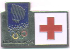 Red cross given to red cross staff during the olympics
