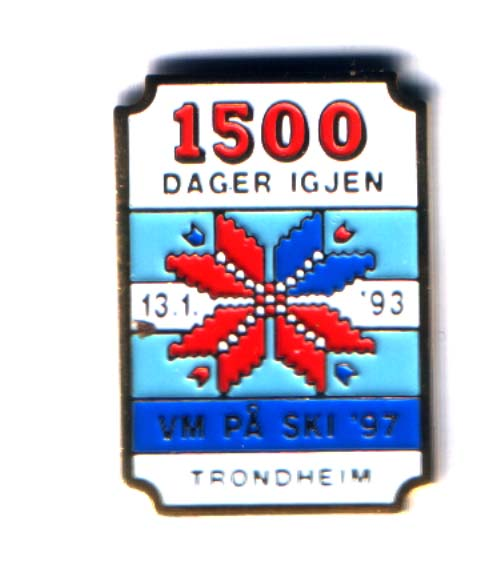 1500 days to go - Trondheim 1997