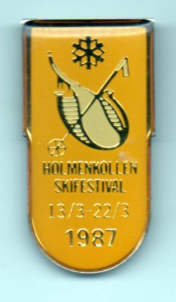 Holmenkollen 1987 - swivel pin