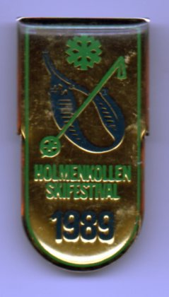 Holmenkollen 1989 - swivel pin