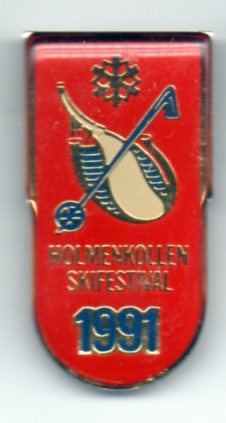 Holmenkollen 1991 - swivel pin