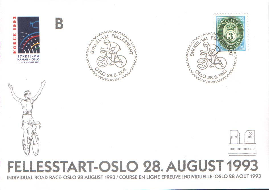Envelope Individual Road Race 28 august 1993