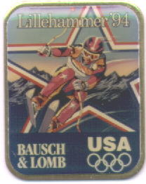 Bausch & Lomb picture pin downhill