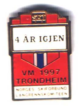4 years to go Trondheim 1997