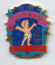 Atlanta 1996 Happy new year