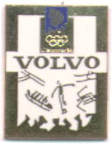 Volvo with golden frame