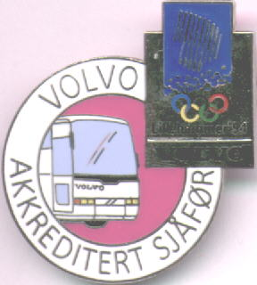 Volvo driver pin big
