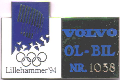 Volvo Olympic-car with number