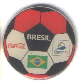 World Cup 1998 Coca Cola ball Brazil