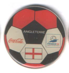 World Cup 1998 Coca Cola ball England