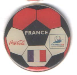 World Cup 1998 Coca Cola ball France