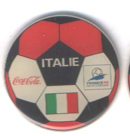 World Cup 1998 Coca Cola ball Italy