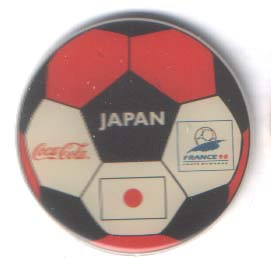 World Cup 1998 Coca Cola ball Japan