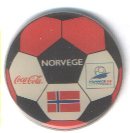 World Cup 1998 Coca Cola ball Norway