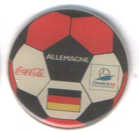 World Cup 1998 Coca Cola ball Germany
