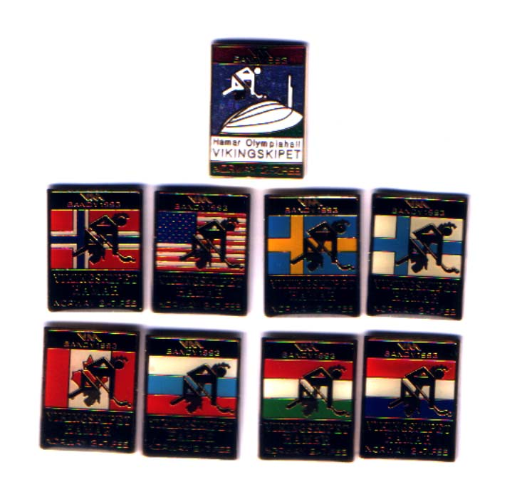WC Bandy 1993 - Complete set