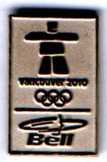 Vancouver 2010 BELL in silver