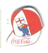 World Cup 1998 Coca Cola caps England
