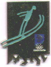 Ski jump pictogram 2