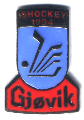 10 pins - Gjøvik ice hockey 1994