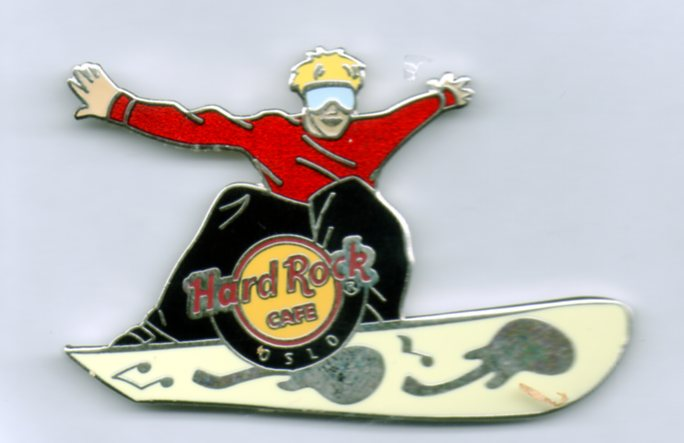 Snowboard - Hard Rock Cafe Oslo