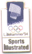 Sports Illustrated white  with northern light - Lillehammer 1994