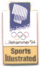 Sports Illustrated yellow with northern light - Lillehammer 1994