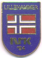 NRK `94 blue with the norwegian flag