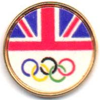 Great Britain flagg Lillehammer OL 1994