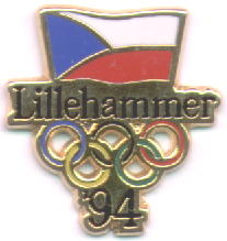 Czech committee gold trim Lillehammer