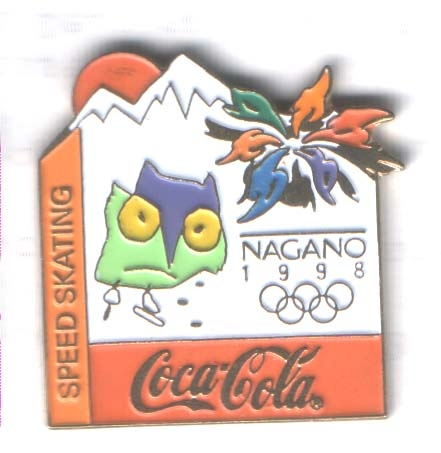 Nagano 1998 Coca Cola Speed skating