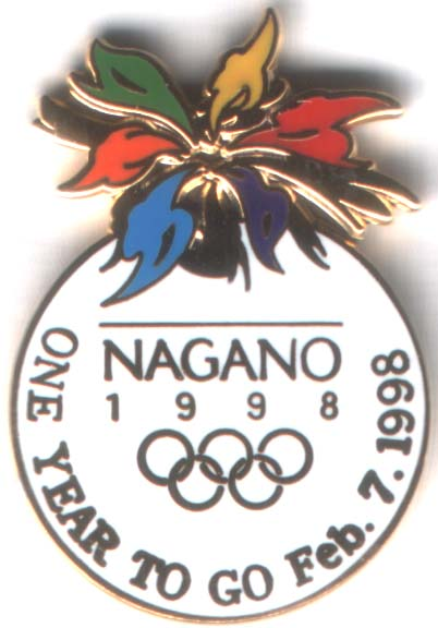 Nagano 1998 One year to go Feb. 7. 1998