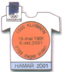 Hamar light blue 2001 with number