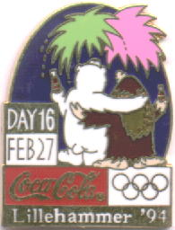 Coca Cola Day 16 Taiwan - Lillehammer 1994