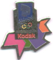 Kodak with crystals red letters