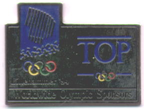 Top 3 logo pin