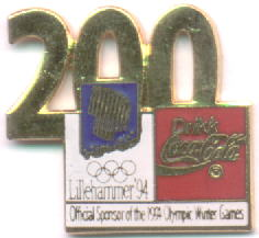 Coca Cola 200 days to go. Large numbers