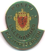 Police Lillehammer 1994 Police spare hands