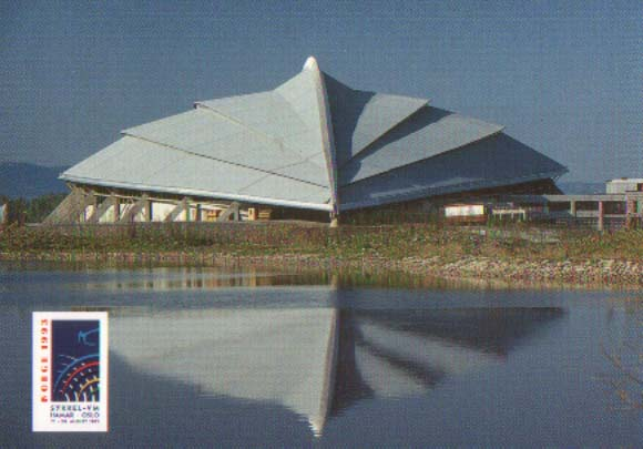 Official Postcard - Hamar Olympiahall Vikingskipet
