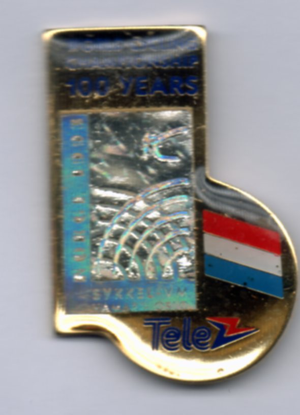 Tele nation pin Netherlands Sykkel VM 1993