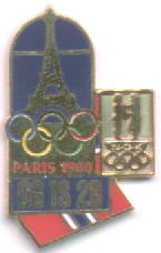 NOC Memorabilia pin Paris 1900