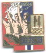 NOC Memorabilia pin Paris 1924