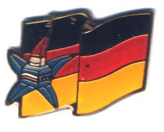 Albertville 1992 Mascots flag Germany