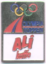 Olympiatoppen Ali Kaffe silver trim with number