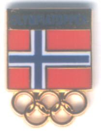 New Olympiatoppen logo pin