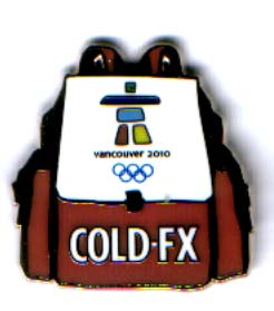 Vancouver 2010 Cold-FX Backpack