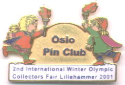 2nd International Winter Olympic Collector`s Fair MASKOT 2001 me
