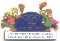3rd International Winter Olympic Collector`s Fair MASCOT 2002 sm