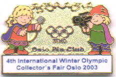 4th International Winter Olympic Collector`s Fair MASCOT 2003 wi