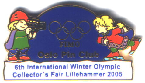 6th International Winter Olympic Collector`s Fair 2005 liten